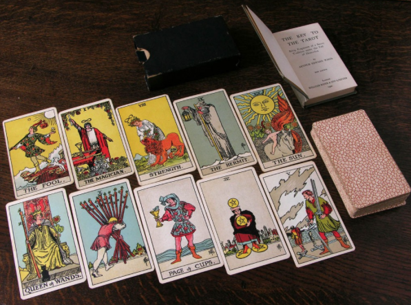 Indiana tarot cards
